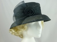 Accessorize Black Wedding Hat